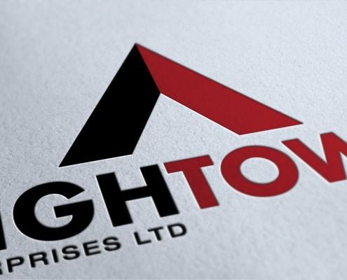 High tower logo design brighton