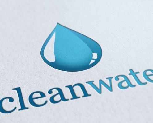 Clean Water Logo Design Brighton