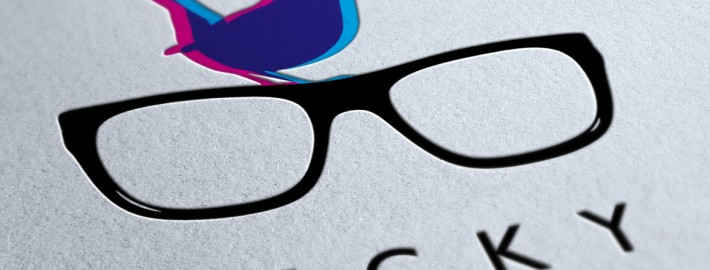 The Specky Wren Opticians Logo Design Brighton
