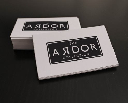 Brand Identity Brighton Logo Design Business Card Design The Ardor Collection